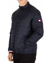 Tommy Hilfiger Sky Captain Reversible Nylon Down Jacket