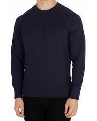 GANT - Evening Blue Mobilize Sweatshirt - Lyst
