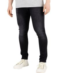 G-Star RAW - Medium Aged Faded Revend Skinny Jeans - Lyst