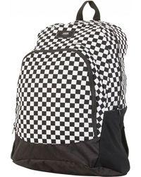 Vans - Black/white Doren Original Backpack - Lyst