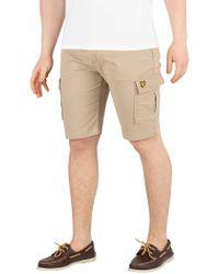 Lyle & Scott - Stone Cargo Shorts - Lyst