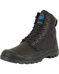 Palladium - Pampa Sport Cuff Wpn Waterproof Leather Combat Ankle Boots - Lyst