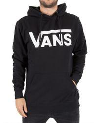 Vans - Black/white Classic Graphic Hoodie - Lyst