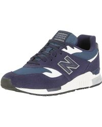 New Balance - Blue/white 840 Trainers - Lyst