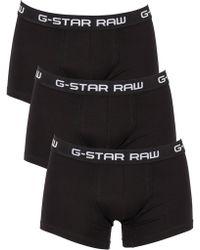 G-Star RAW - Classic Trunk 3 Pack - Lyst