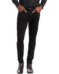 Levi's - Black 512 Slim Tapered Fit Nightshine Jeans - Lyst
