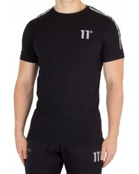 11 Degrees - Black Reflective T-shirt - Lyst