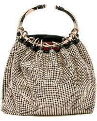 Valentino | Bebop Chainmail Ring Clutch Bag | Lyst