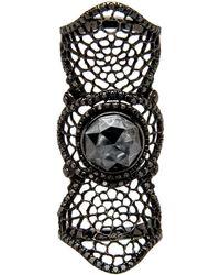Loree Rodkin - Medium Spider Web Bondage Ring - Lyst