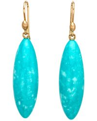 Ted Muehling - Turquoise Long Berry Earrings - Lyst