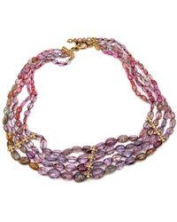 Loree Rodkin | 4 Strand Sapphire Necklace | Lyst