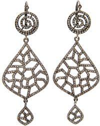 Loree Rodkin | Lacey Teardrop Earrings | Lyst