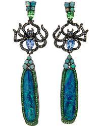 Wendy Yue - Spider Opal Drop Earrings - Lyst