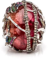 Wendy Yue | Tourmaline Dome Ring | Lyst