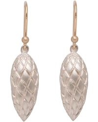 Ted Muehling - Silver Pine Cone Earrings - Lyst