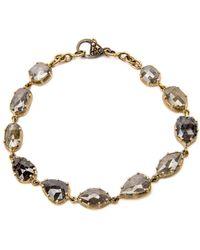 Sylva & Cie - Mixed Rough Cut Diamond Bracelet - Lyst