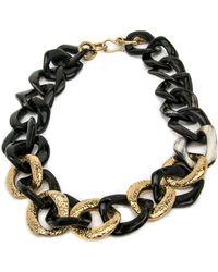 Ashley Pittman - Salama Dark Horn Necklace - Lyst