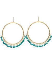 Ashley Pittman - Mnara With Turquoise Earrings - Lyst