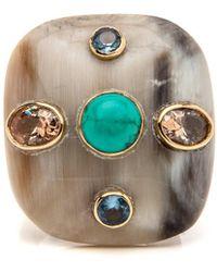 Ashley Pittman | Aulu Light Horn Ring | Lyst