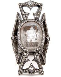 Loree Rodkin - Maltese Cross Diamond Ring - Lyst