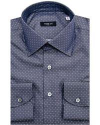 Marol - Blue Diamond Dress Shirt - Lyst