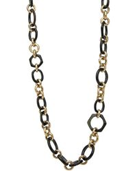 Ashley Pittman - Shauri Dark Horn Necklace - Lyst