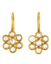 Darlene De Sedle - Flower Diamond Earrings - Lyst
