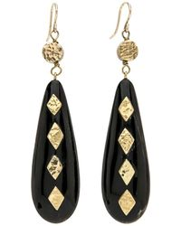 Ashley Pittman - Ndoa Dark Horn Earrings - Lyst