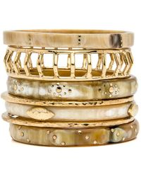 Ashley Pittman - Almasi Light Horn Bangle Set - Lyst