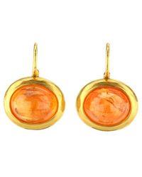 Darlene De Sedle - Mandarin Garnet Earrings - Lyst