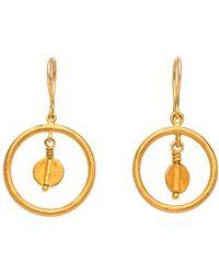 Yossi Harari - Butterfly Small Dangle Earrings - Lyst