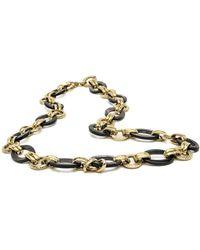 Ashley Pittman | Ikulu Dark Horn Chain Necklace | Lyst
