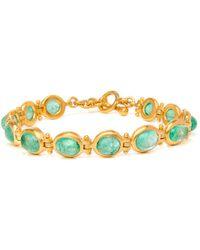 Darlene De Sedle - Hinged Emerald Bracelet - Lyst