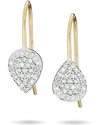 Adina Reyter - Solid Pave Teardrop Earring - Lyst