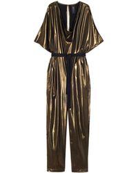 Zero + Maria Cornejo - Vintage Gold Venus Jumpsuit - Lyst