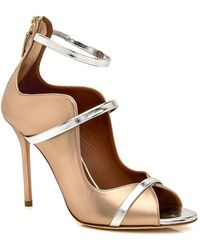 Malone Souliers - Gold And Silver Mika Sandal - Lyst