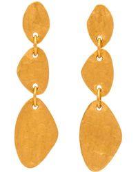 Yossi Harari - Melissa Triple Drop Earrings - Lyst
