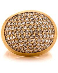 Yossi Harari - Roxanne Diamond Dome Ring - Lyst