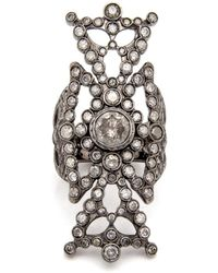 Loree Rodkin - Large Queens Maltese Diamond Ring - Lyst