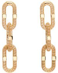 Roule & Co. - Chain Link Earrings - Lyst