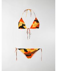 Off-White c/o Virgil Abloh - Camouflage Bikini - Lyst