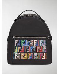 Fendi | Leather Backpack | Lyst