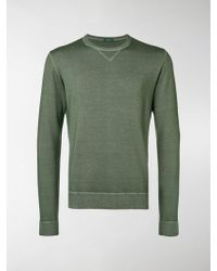 Zanone - Exposed Seam Knitted Jumper - Lyst