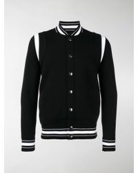 Givenchy - Bomber Jacket With 4g Embroidery - Lyst