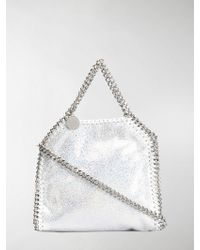 0ce556eaff Stella McCartney Falabella Tiny Faux-leather Cross-body Bag in ...