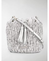 Miu Miu - Sequined Bucket Bag - Lyst