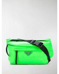 Prada - Fluorescent Nylon Belt Bag - Lyst