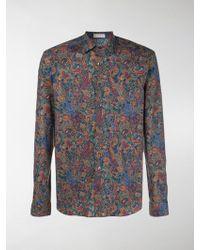 Etro - Mixed Paisley Print Shirt - Lyst
