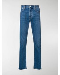 Calvin Klein - Logo Embroidered Bootcut Jeans - Lyst