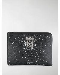 Alexander McQueen - Embellished Skull Clutch Bag - Lyst